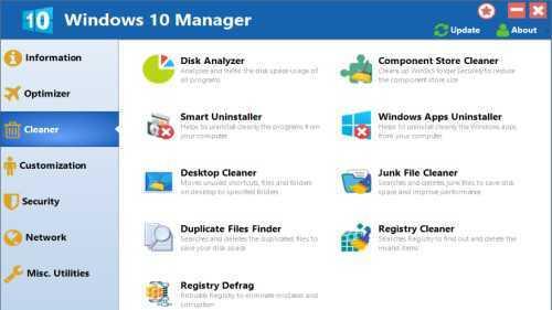 Yamicsoft Windows 10 Manager 3.5.4 Multilingual With Crack